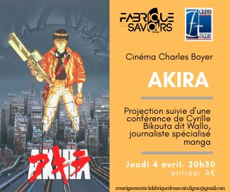 Akira flyer petit format