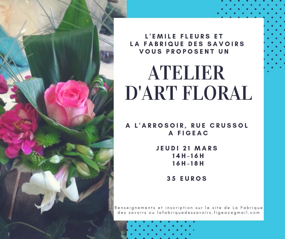Art floral 21 mars