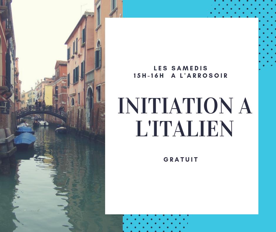 Initiation italien